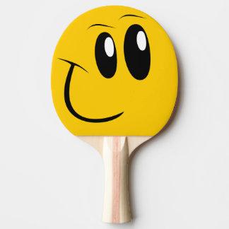 Raquete De Ping Pong Pá engraçada do ténis de mesa da cara