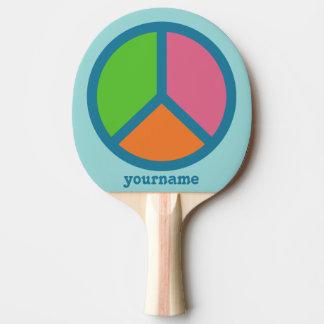 Raquete De Ping Pong Pá feita sob encomenda colorida do pong do sibilo