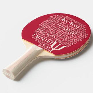 Raquete De Ping-pong Pá feita sob encomenda do pong do sibilo da nuvem