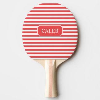 Raquete De Ping Pong Pá vermelha personalizada de Pong do sibilo da