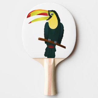 Raquete De Ping Pong pássaro toucan