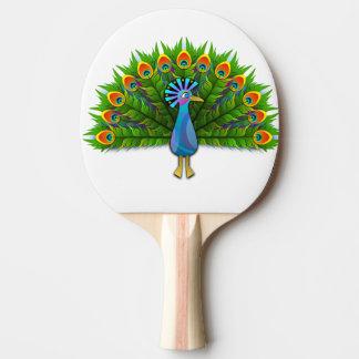 Raquete De Ping-pong pavão