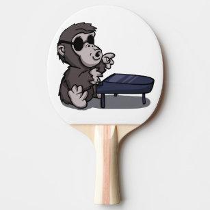5620e5a8cddf6 Equipamento de Ping-pong Desenhos Animados Gorila   Zazzle.com.br
