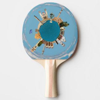 Raquete De Ping-pong Piscina da cidade de Rethymno pouco marco