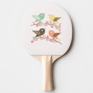 Raquete De Ping Pong Quatro pássaros