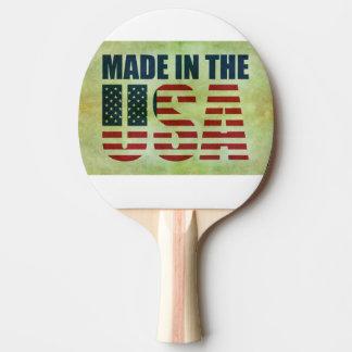 Raquete De Ping Pong Raquete de Ping Pong, Borracha vermelha Back