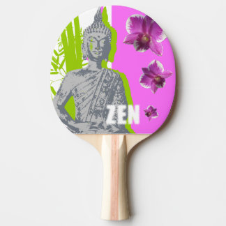 Raquete De Ping-pong Raquete de Ping Pong, Borracha vermelha Back ZEN