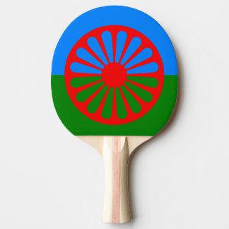 Raquete De Ping Pong Raquete Romani de Pong do sibilo da bandeira