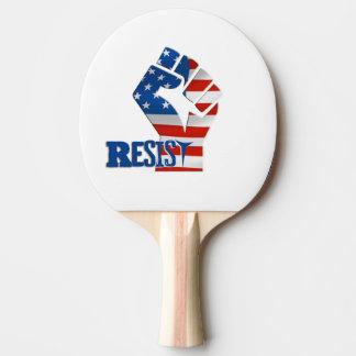 Raquete De Ping Pong Resista a pá de Pong do sibilo, parte traseira
