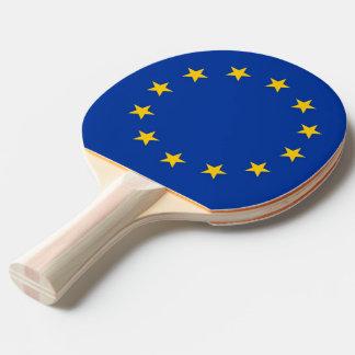 Raquete De Ping-pong Sibile a pá do pong com a bandeira da União
