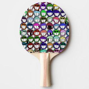 Raquete De Ping Pong Sorrindo óculos de sol de sorriso de riso 926871c155