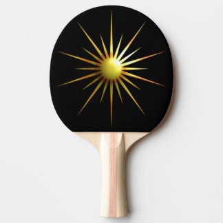 Raquete De Ping-pong Sun abstrato
