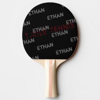 Raquete De Ping Pong table_tennis pretos legal com teste padrão
