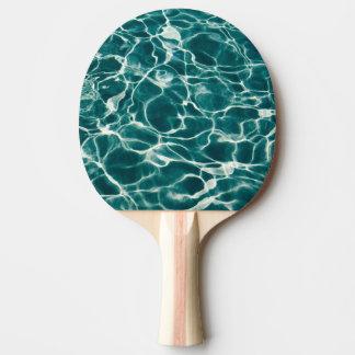 Raquete De Ping Pong Teste padrão da água da piscina