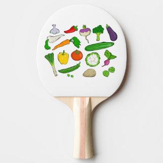 Raquete De Ping Pong vegetais