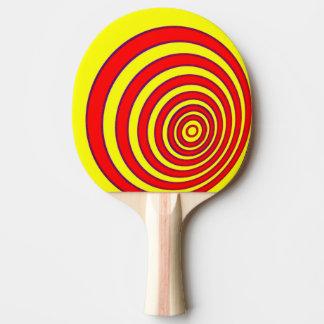 Raquete De Tênis De Mesa Bastão de Pong do sibilo/pá - círculos deslocados