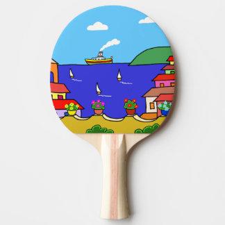 Raquete De Tênis De Mesa Feriado mediterrâneo
