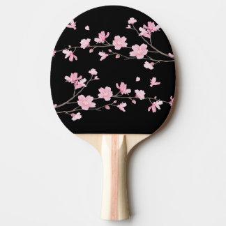 Raquete De Tênis De Mesa Flor de cerejeira - preto