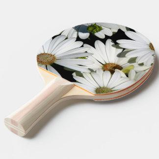 Raquete De Tênis De Mesa Flores da margarida branca