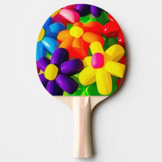 Raquete De Tênis De Mesa Flores de balão do brinquedo