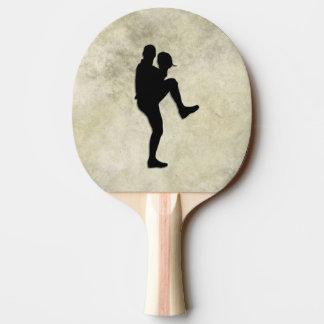 Raquete De Tênis De Mesa Jarro e massa dos jogadores de beisebol