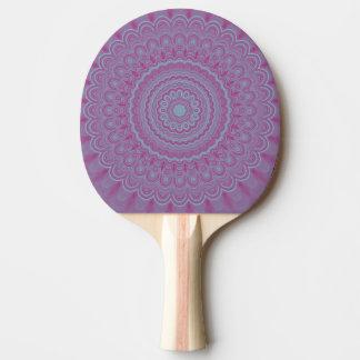 Raquete De Tênis De Mesa Mandala geométrica da flor