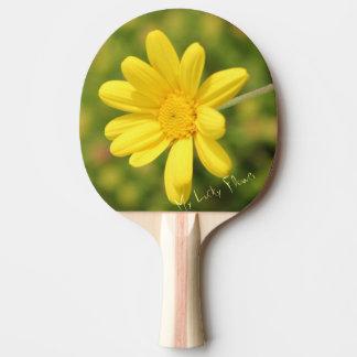 Raquete De Tênis De Mesa Minha pá amarela afortunada de Pong do sibilo da