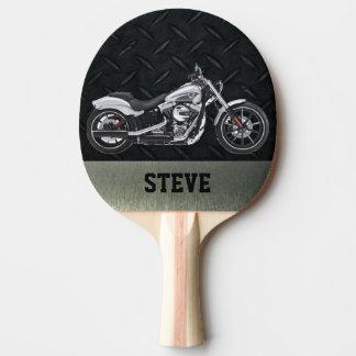 Raquete De Tênis De Mesa Motocicleta resistente pá personalizada de Pong do