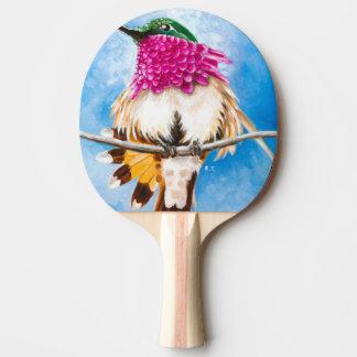 Raquete De Tênis De Mesa O colibri da costela