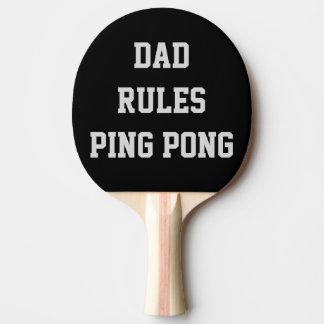 Raquete De Tênis De Mesa O dobro personalizado Pong do sibilo das regras do