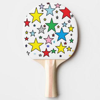 Raquete De Tênis De Mesa Pá afortunada de Pong do sibilo das estrelas