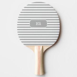 Raquete De Tênis De Mesa Pá cinzenta personalizada de Pong do sibilo da