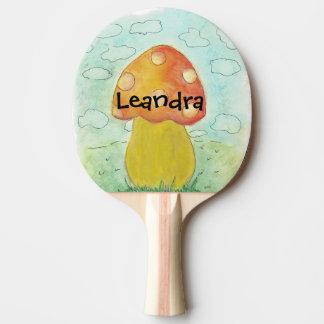Raquete De Tênis De Mesa pá conhecida customizável do pong do sibilo