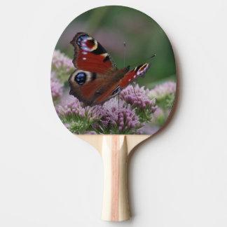 Raquete De Tênis De Mesa Pá de Pong do sibilo da borboleta de pavão