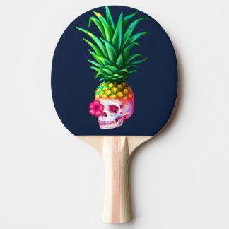 Raquete De Tênis De Mesa Pá de Pong do sibilo do crânio do abacaxi