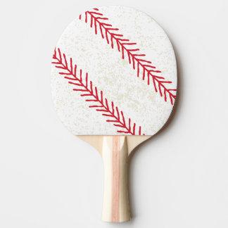 Raquete De Tênis De Mesa Pá de Pong do sibilo do ponto do basebol