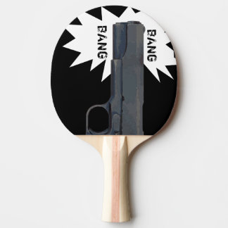 Raquete De Tênis De Mesa Pá do Pin Pong do caçador da caverna do homem