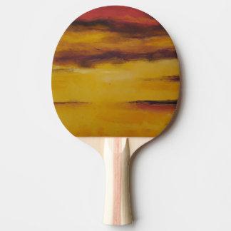 Raquete De Tênis De Mesa Pá do ténis de mesa do por do sol 5