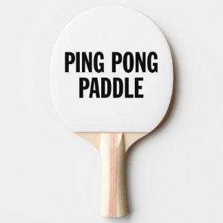 Raquete De Tênis De Mesa Pá genérica de Pong do sibilo