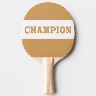 Raquete De Tênis De Mesa Pá preta do Pin Pong da parte traseira da borracha