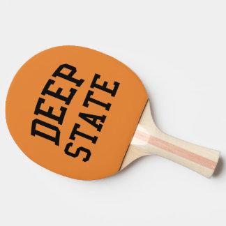 Raquete De Tênis De Mesa Pá profunda do pong do sibilo do estado