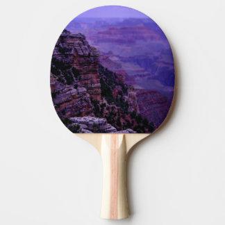 Raquete De Tênis De Mesa Pá roxa de Pong do sibilo do Grand Canyon