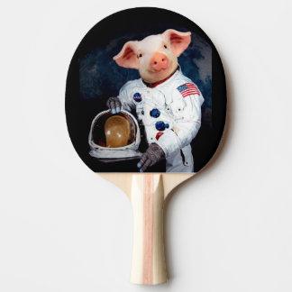 Raquete De Tênis De Mesa Porco do astronauta - astronauta do espaço