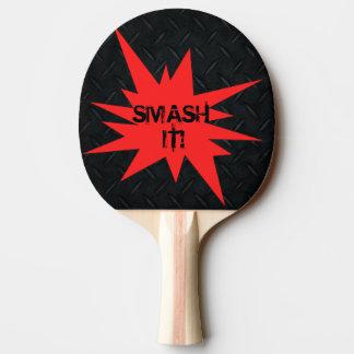 Raquete De Tênis De Mesa Quebra ele! Pá engraçada reversível de Pong do
