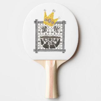 Raquete De Tênis De Mesa Rei Sudoku Sibilar Pong Bastão