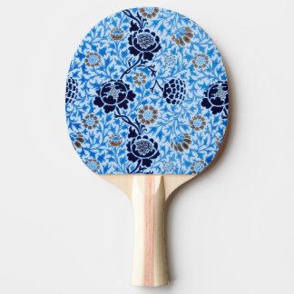 Raquete De Tênis De Mesa Teste padrão do Victorian no azul