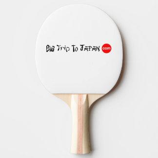 Raquete De Tênis De Mesa Viagem grande à pá do ténis de mesa de Japão
