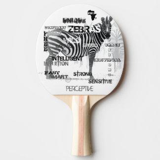 Raquete De Tênis De Mesa Zebras originais