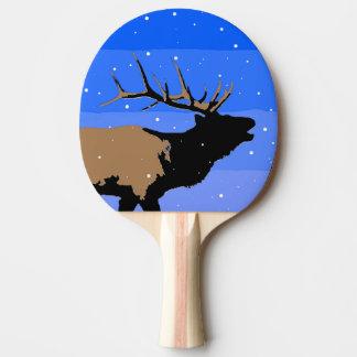 Raquete Para Ping Pong Alces de Bugling no inverno