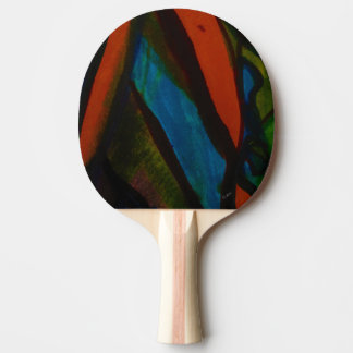 Raquete Para Ping Pong Aumentaram os vidros coloridos